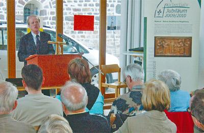 Kirchenhistoriker Rolf Decot sprach in Magdeburg über Norbert von Xanten und die reformorientierte Zeit, in der er lebte